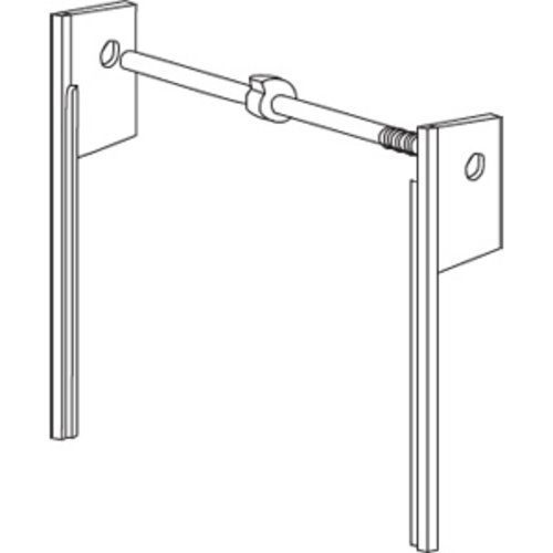 "30"" Spring Tension Tracks System- White <small>(#ST-2-30-WH)</small>"