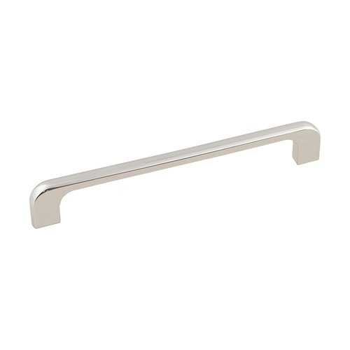 Jeffrey Alexander Alvar Pull 6-5/16 inch Center to Center Polished Nickel 264-160NI