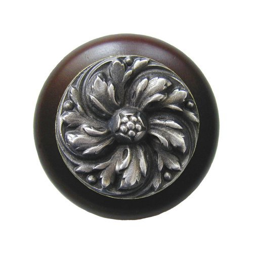 English Garden 1-1/2 Inch Diameter Antique Pewter Cabinet Knob <small>(#NHW-714W-AP)</small>