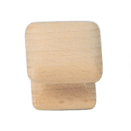 Laurey Hardware Au Natural 1-1/4 Inch Diameter Wood Cabinet Knob 32201
