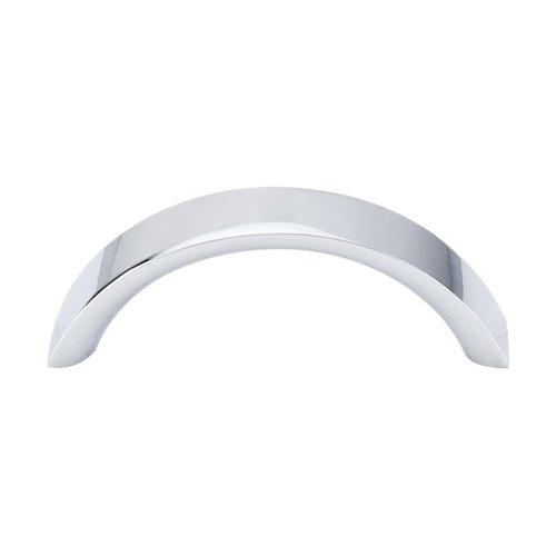 Top Knobs Nouveau 3 Inch Center to Center Polished Chrome Cabinet Pull M1738