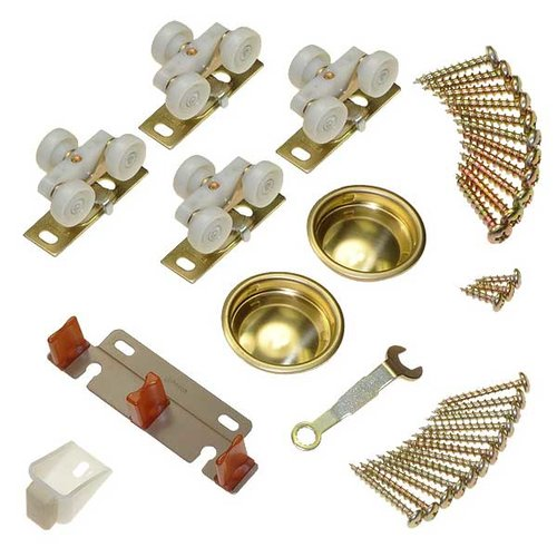 Johnson Hardware 134F Series Hardware Set-125lbs 13313402