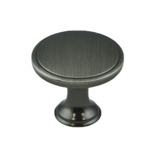 Oasis 1-1/4 Inch Diameter Brushed Tin Cabinet Knob <small>(#9256-10BT-P)</small>