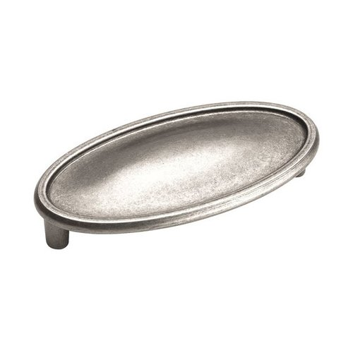 Amerock Manor 3 Inch Center to Center Weathered Nickel Cabinet Pull BP26126WN
