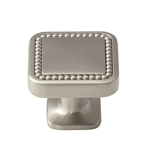 Carolyne 1-1/4 Inch Diameter Satin Nickel Cabinet Knob <small>(#BP36582G10)</small>