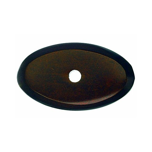 Top Knobs Aspen 1-1/2 Inch Length Mahogany Bronze Back-plate M1438