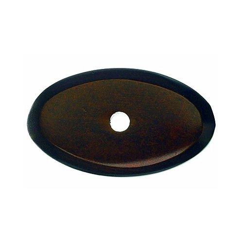 Top Knobs Aspen 1-1/2 Inch Length Mahogany Bronze Back-plate M1438