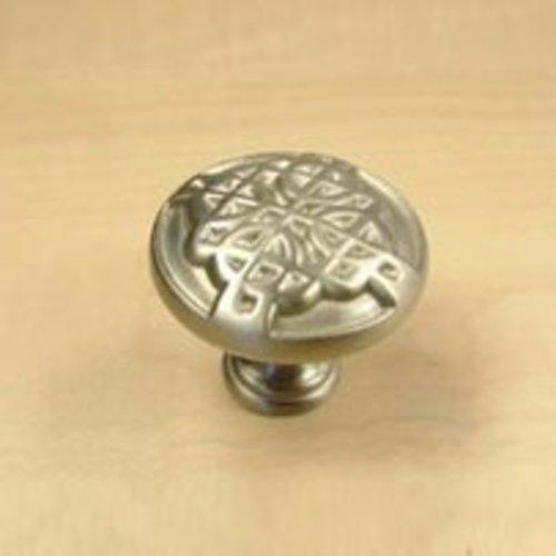 Century Hardware Highlander 1-3/16 Inch Diameter Dull Satin Nickel Cabinet Knob 29215-DSN