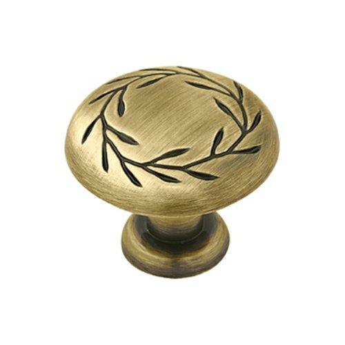 Amerock Inspirations 1-3/4 Inch Diameter Elegant Brass Cabinet Knob BP15812EB