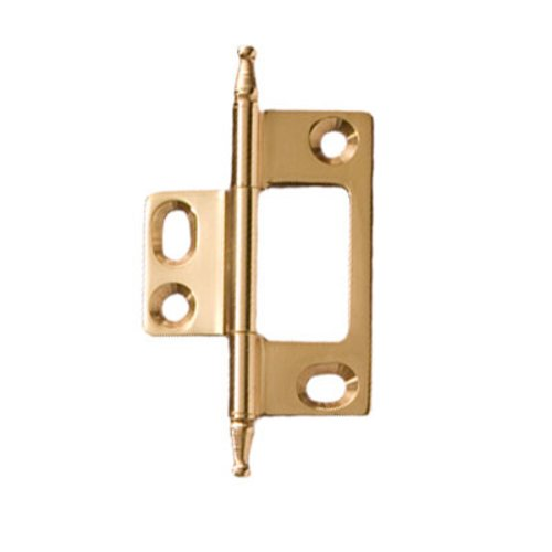 Hafele Elite Non-Mortised Butt Hinge 50X37mm - Polished Brass 351.95.880