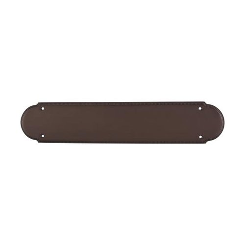 Top Knobs Appliance Pull 15 Inch Length Oil Rubbed Bronze Back-plate M897