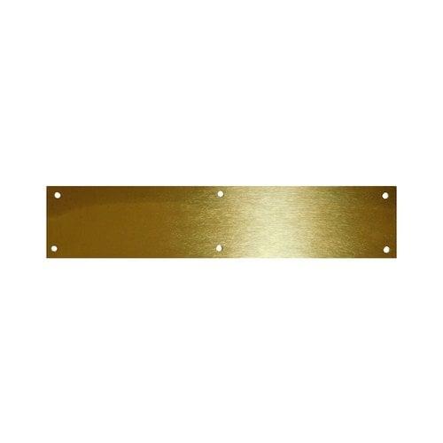"Don-Jo Brass Tone Door Kick Plate 8 inch x 30"" 90-8"" X 30""-BT"