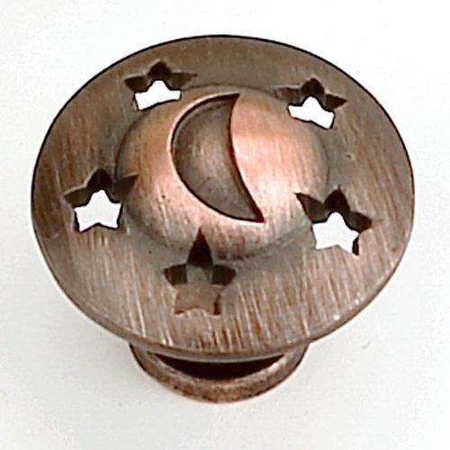 Laurey Hardware Celestials 1-1/4 Inch Diameter Venetian Bronze Cabinet Knob 13977