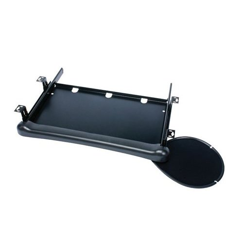 Knape and Vogt KD-110 Keyboard Tray with Mouse-Black KD-110