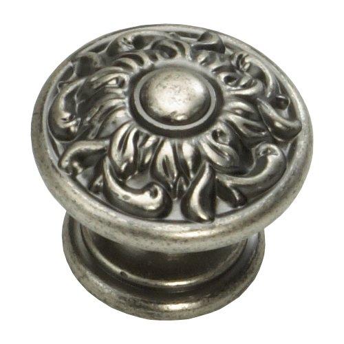 Schaub and Company Corinthian 1-3/8 Inch Diameter Corinthian Silver Cabinet Knob 870-CRS