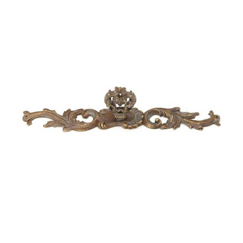 French Court 1-1/4 Inch Diameter Monticello Bronze Cabinet Knob <small>(#817-MBR)</small>