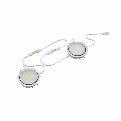 "Tresco International Tresco 24"" White LED Pockit 120V Link Cord L-FPOC-LINKA-60-WH-10"