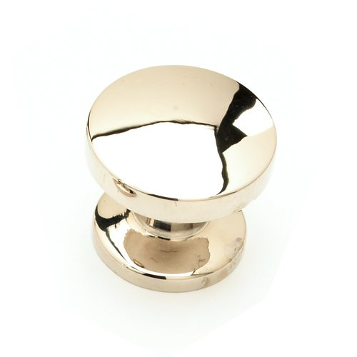 Schaub and Company Northport 1-3/8 Inch Diameter Polished Nickel Cabinet Knob 211-PN