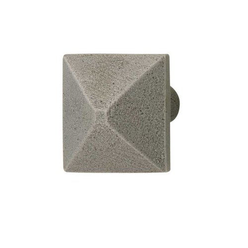 Hafele Prarie 1 Inch Diameter Pewter Cabinet Knob 123.06.950
