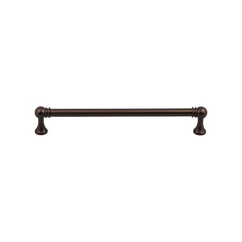 Serene 7-9/16 Inch Center to Center Oil Rubbed Bronze Cabinet Pull <small>(#TK805ORB)</small>