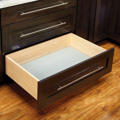 Rev-A-Shelf Vinyl Drawer Peg Board 24-1/8 inch W 4DPBG-2421-1