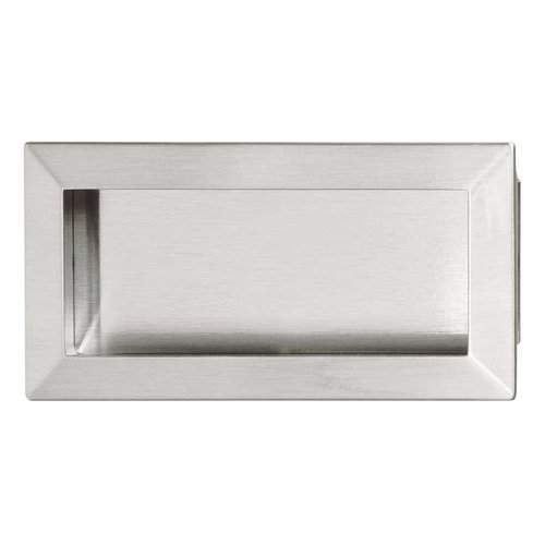 Hafele Bella Italiana 5-7/16 Inch Length Brushed Nickel Cabinet Pull 151.67.602