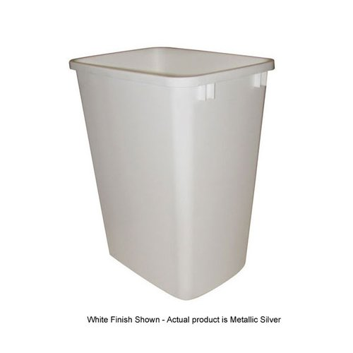 Rev-A-Shelf Polymer Replacement Bin 35 Quart - Silver RV-35-17-8