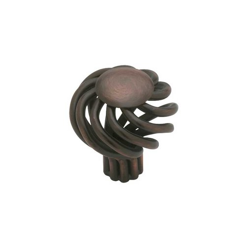 Liberty Hardware Forged Iron 1-3/8 Inch Diameter Bronze W/Copper Highlights Cabinet Knob PN9011-VBR-C