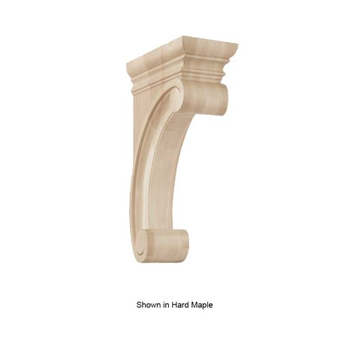 Brown Wood Large Madeline Corbel Unfinished Cherry 01607315CH1