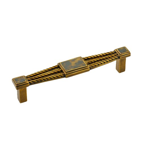 Schaub and Company Interlude 5-3/8 Inch Center to Center Tiger Penshell, Estate Dover Cabinet Pull 622-PED/ED