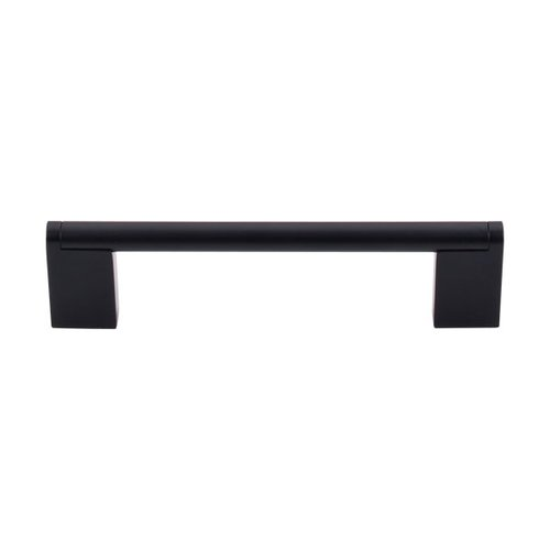 Top Knobs Bar Pull 5-1/16 Inch Center to Center Flat Black Cabinet Pull M1056