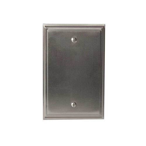 Mulholland Blank Wall Plate Satin Nickel <small>(#BP36527G10)</small>