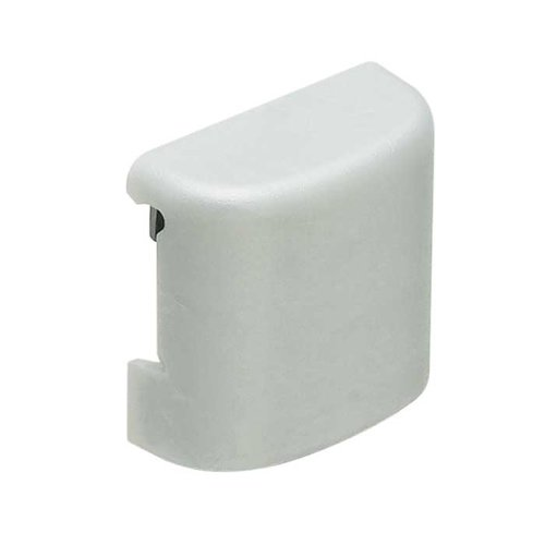 Hafele Omni Track Cover Cap For Hooks Silver Plastic 792.02.099