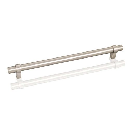Key Grande 8-13/16 Inch Center to Center Satin Nickel Cabinet Pull <small>(#5224SN)</small>