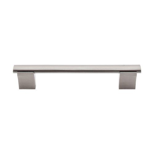 Bar Pull 5-1/16 Inch Center to Center Brushed Satin Nickel Cabinet Pull <small>(#M1081)</small>