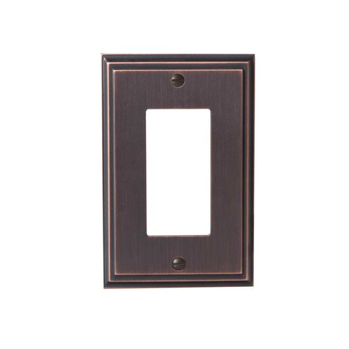 Mulholland One Rocker Wall Plate Oil Rubbed Bronze <small>(#BP36518ORB)</small>