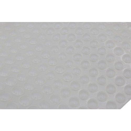 Clear Rubber Bumper 3/8 inch Diameter x 1/16 inch High-450 Per Card