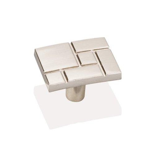 Jeffrey Alexander Breighton 1-7/16 Inch Diameter Satin Nickel Cabinet Knob 874SN