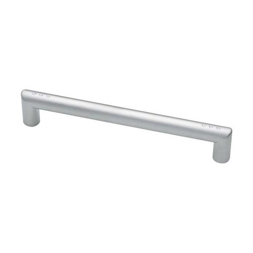 Liberty Hardware Modern 6-5/16 Inch Center to Center Dull Chrome Cabinet Pull 62319DC