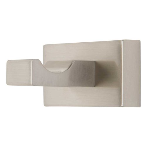 Atlas Homewares Axel Robe Hook Brushed Nickel AXSH-BRN