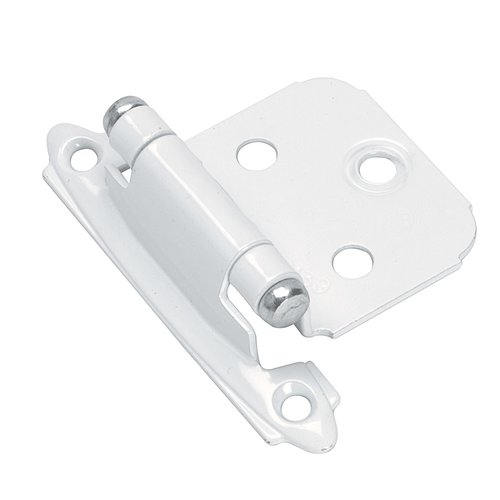Variable Overlay Hinge- White-Sold Per Pair <small>(#BP7139W)</small>