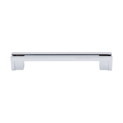 Top Knobs Sanctuary 5 Inch Center to Center Polished Chrome Cabinet Pull TK56PC
