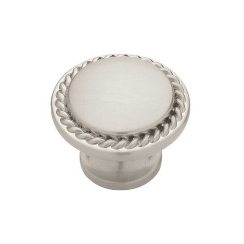 Liberty Hardware Contempo 1-3/16 Inch Diameter Satin Nickel Cabinet Knob PN0293-SN-C