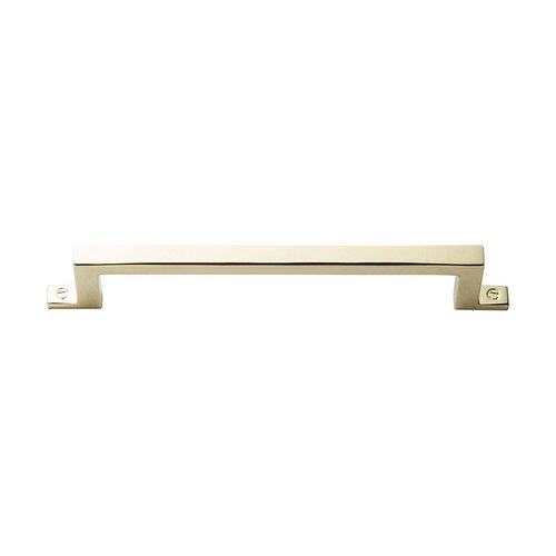 "Atlas Homewares Campaign Bar Pull 5-1/16"" C/C Polished Brass 386-PB"