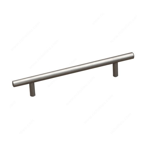 Richelieu Bar Pulls 7-9/16 Inch Center to Center Stainless Steel Cabinet Pull 2102192170