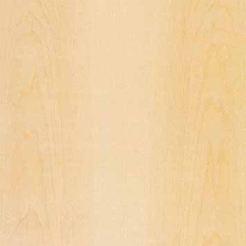 Veneer Tech White Maple Wood Veneer Plain Sliced Wood Backer 4 feet x 8 feet