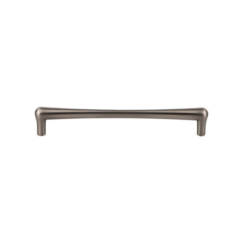 Top Knobs Barrington 7-9/16 Inch Center to Center Brushed Satin Nickel Cabinet Pull TK766BSN