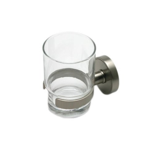 Wall Mount Tumbler Holder Brushed Nickel <small>(#2216US15)</small>