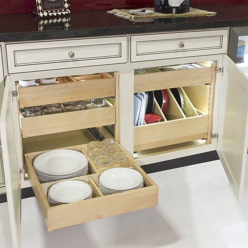 Tenn-Tex QuikTRAY Two Drawer Kit for 18 inch Cabinets QT-100182