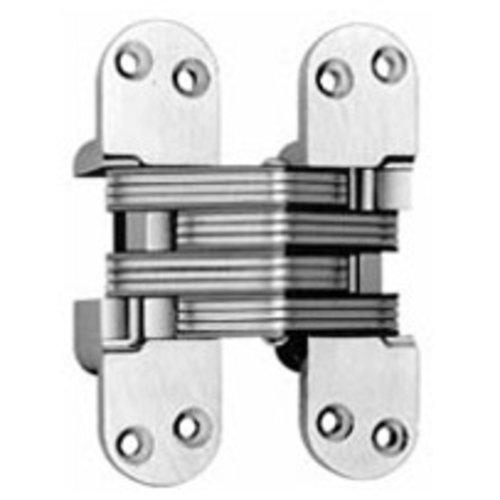 Soss #220 Invisible Spring Closer Hinge Polished Chrome 220ICUS26